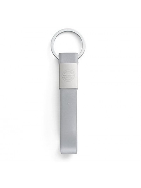 Брелок-флешка Volvo Rubber USB 32GB and Key Ring, Grey/Silver, артикул 30673996